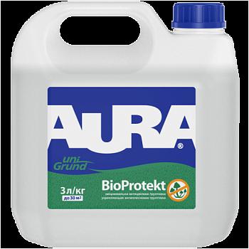 Aura Unigrund Bioprotekt - укрепляющая антиплесневая грунтовка