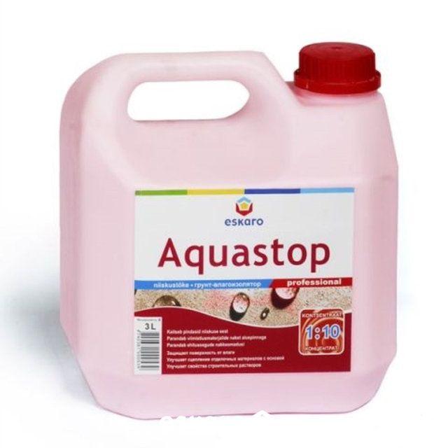 грунтовка Eskaro Aquastop Professional