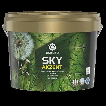 Eskaro Akzent SKY - краска с высокой укрывистостью
