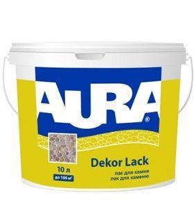 Aura Dekor Lack - лак фасадный для камня