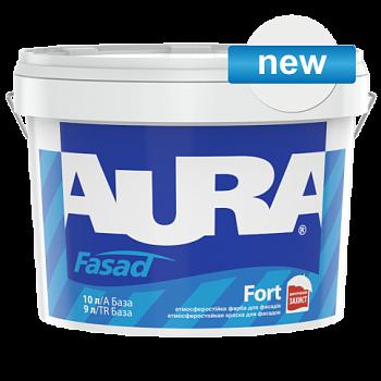 Aura Fasad Fort - атмосферостойкая силиконом краска для фасадов
