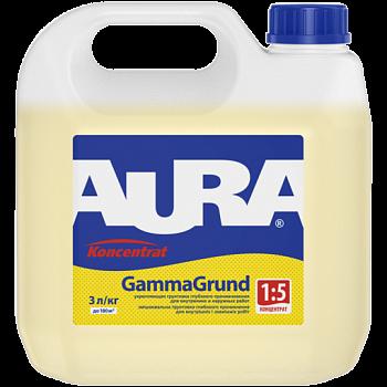 Aura GammaGrund - укрепляющая грунтовка концентрат