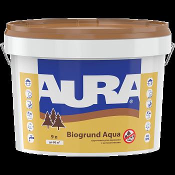 Aura Biogrund Aqua - грунтовка для древесины