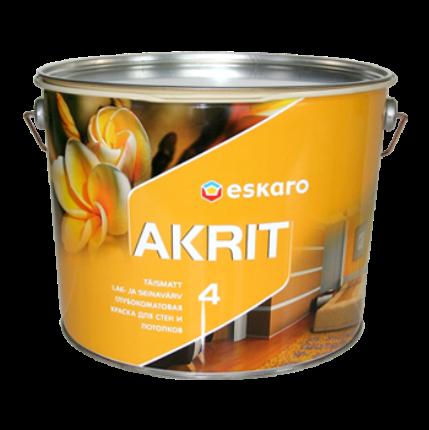 Eskaro Akrit 4 - глубокоматовая краска