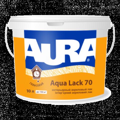 Aura Aqua Lack 70 - интерьерный акриловый лак