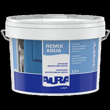 Aura Luxpro Remix Aqua - акриловая декоративная эмаль