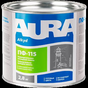 Aura ПФ 115 - универсальная алкидная эмаль