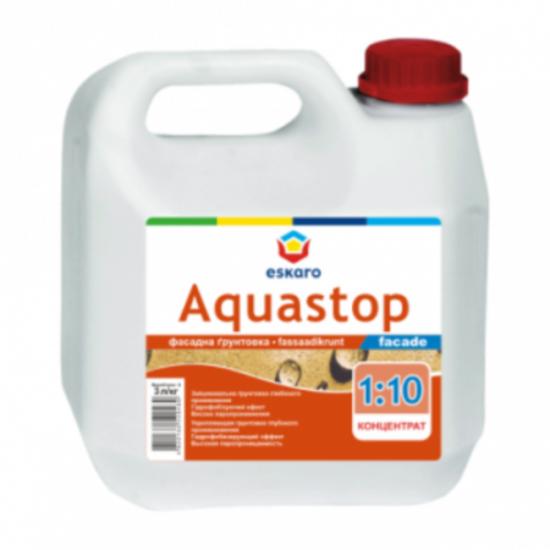 Eskaro Aquastop facade - водоразбавимый укрепляющий грунт-концентрат