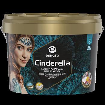 Eskaro Cinderella - особо стойкая к загрязнениям краска