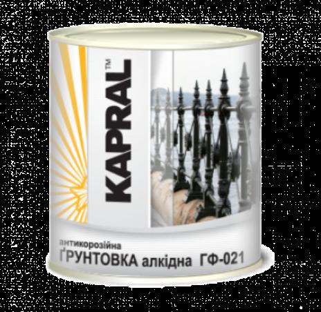 Kapral ГФ-021 - антикоррозионная алкидная грунтовка