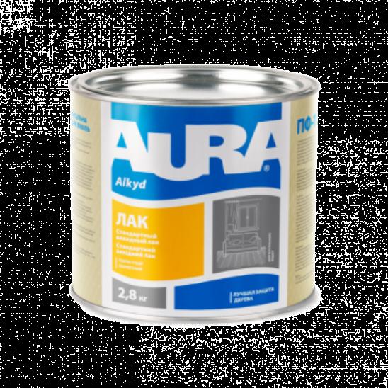 Aura ЛАК Паркетный - алкидно-уретановый лак
