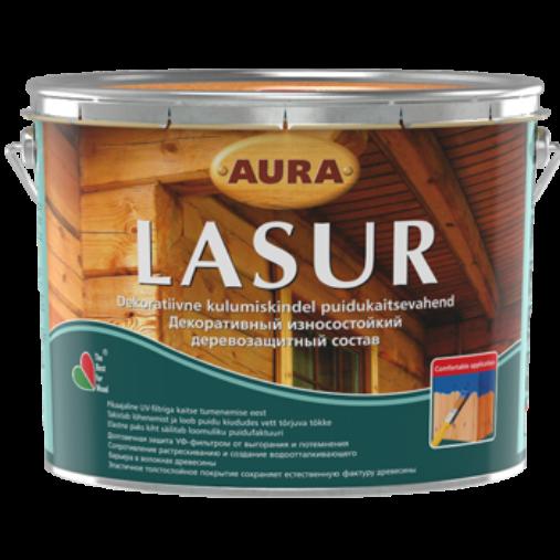Aura Lasur - декоративно-защитное средство для деревянных фасадов