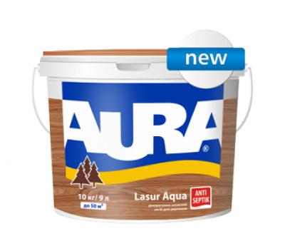 Aura Lasur Aqua - лазурь-лак акриловый для древесины