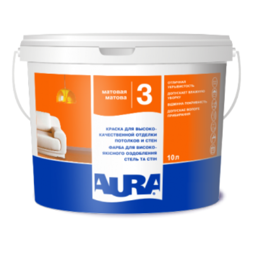 Aura Luxpro 3 - акрилатная краска