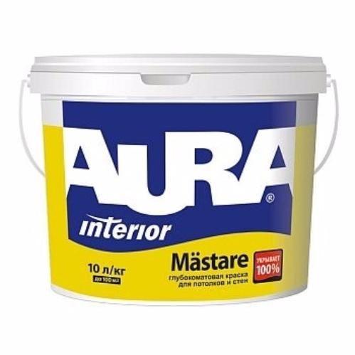 Aura Mastare - глубокоматовая краска для потолков и стен