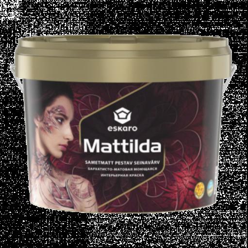 Eskaro Mattilda - моющаяся абсолютно матовая краска