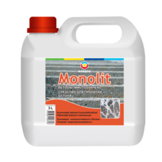 Eskaro Monolit - средство для пропитки бетона