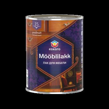 Eskaro Mooblilakk 15 - водоразбавляемый акриловый лак