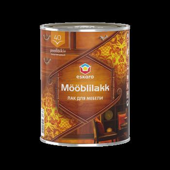 Eskaro Mooblilakk 40 - водоразбавляемый акриловый лак