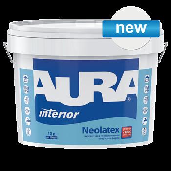 Aura Neolatex - износостойкая глубокоматовая интерьерная краска