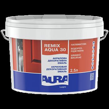 Aura Luxpro Remix Aqua 30 - акриловая декоративная эмаль