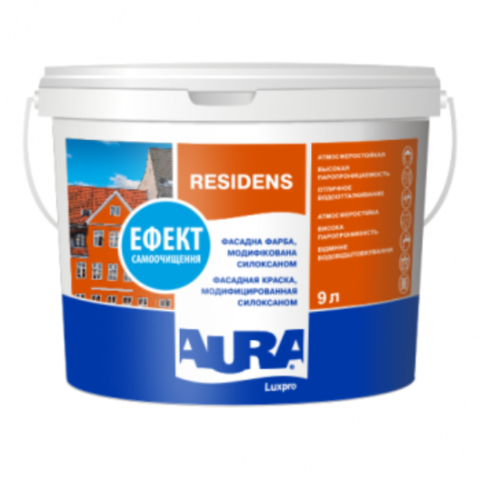 Aura Luxpro Residens - фасадная краска