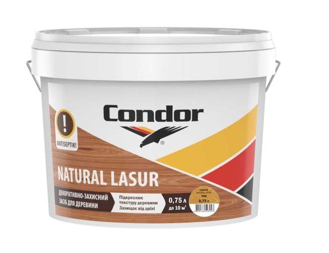 Condor Natural Lasur - декоративная лазурь для древесины
