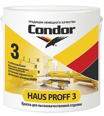 Condor Haus Proff 3 - краска для высококачественной отделки