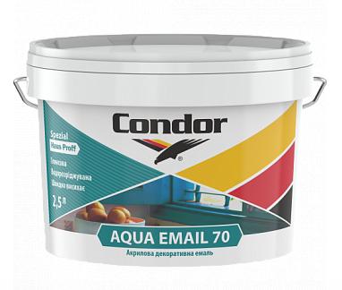 Condor Hausproff Aqua Email 70 - эмаль акриловая